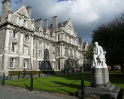 Most Beautiful Universities, Dublin, Ireland, Trinity College side view