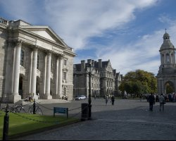 Most Beautiful Universities, Dublin, Ireland, Trinity College parliament square
