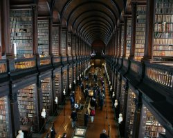 Most Beautiful Universities, Dublin, Ireland, Trinity College old library