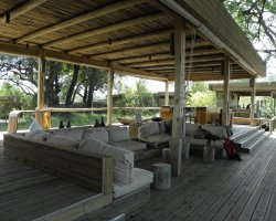 World Best Hotels, Botswana, Africa, Vumbura Plains lounge area