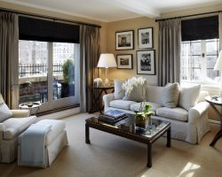 World Best Hotels, New York City, The Lowell Hotel livingroom