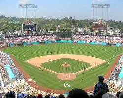 World Holiday, Los Angeles, USA, Dodger Stadium home view