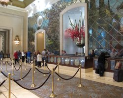 World Largest Hotels, Palazzo Megacenter, Las Vegas, Nevada, USA, Lobby