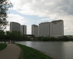 World Largest Hotels, Izmaylovo Hotel, Moscow, Russia, Panoramic view