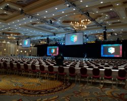 World Largest Hotels, Palazzo Megacenter, Las Vegas, Nevada, USA, Ballroom