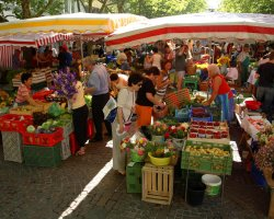 World Markets, Lucerne, Switzerland, Wochenmarkt