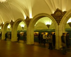 World Subways, Moscow, Russia, Subway station architecture