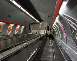 World Subways, Vienna, Austria, Subway entrance stairs
