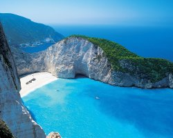 Secret Paradise, Zakynthos, Greece, Shipwreck beach