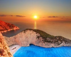 Secret Paradise, Zakynthos, Greece, Sunset