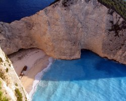 Secret Paradise, Zakynthos, Greece, Shipwreck beach2