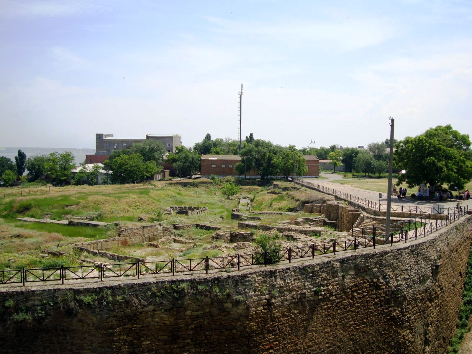 Ukraine Beautiful Places, Belgorod Dnestrovsky, Ukraine, Fortress 03