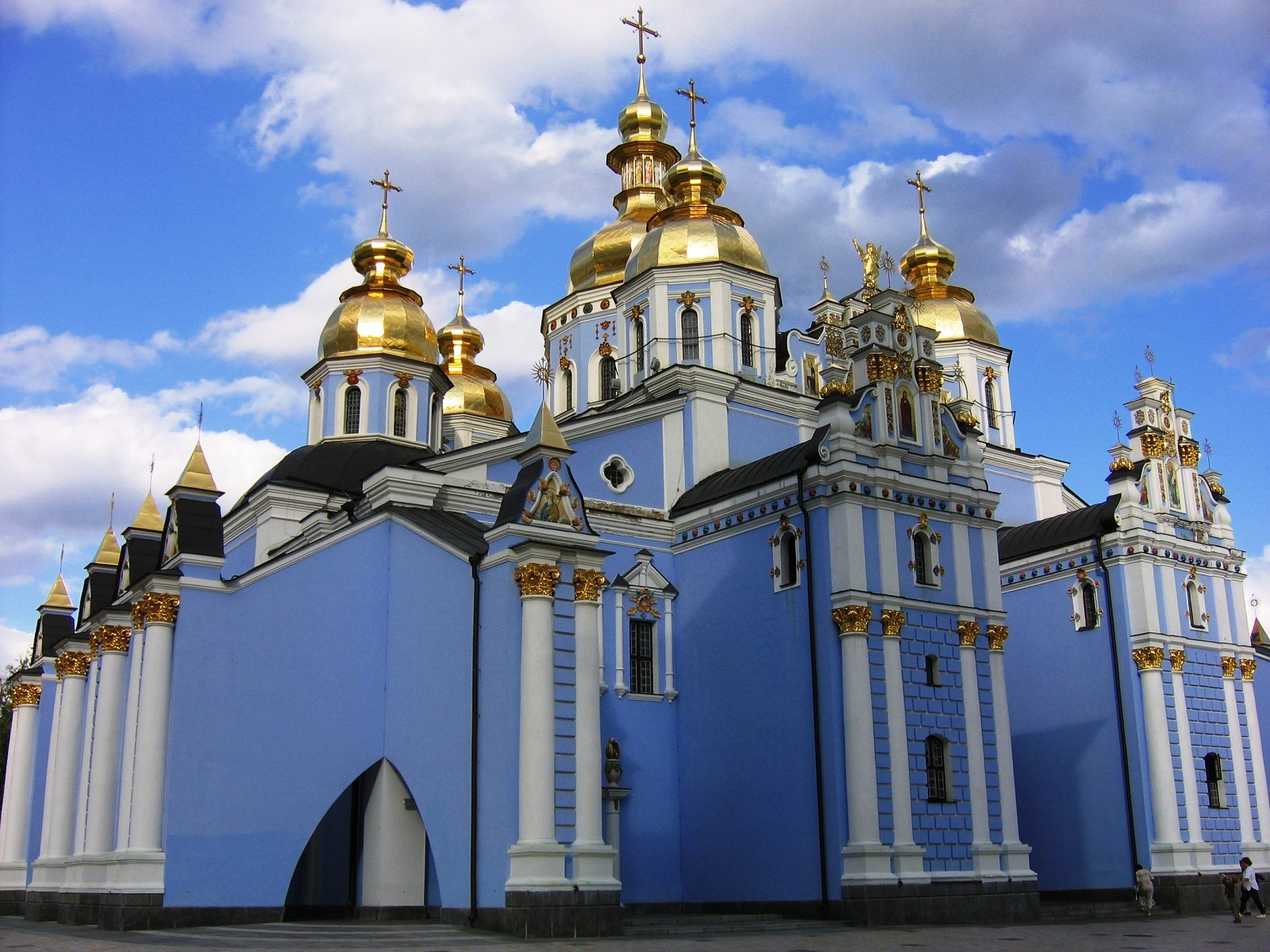 Ukraine Beautiful Places, Kiev, Ukraine, St Michael Cathedral 01