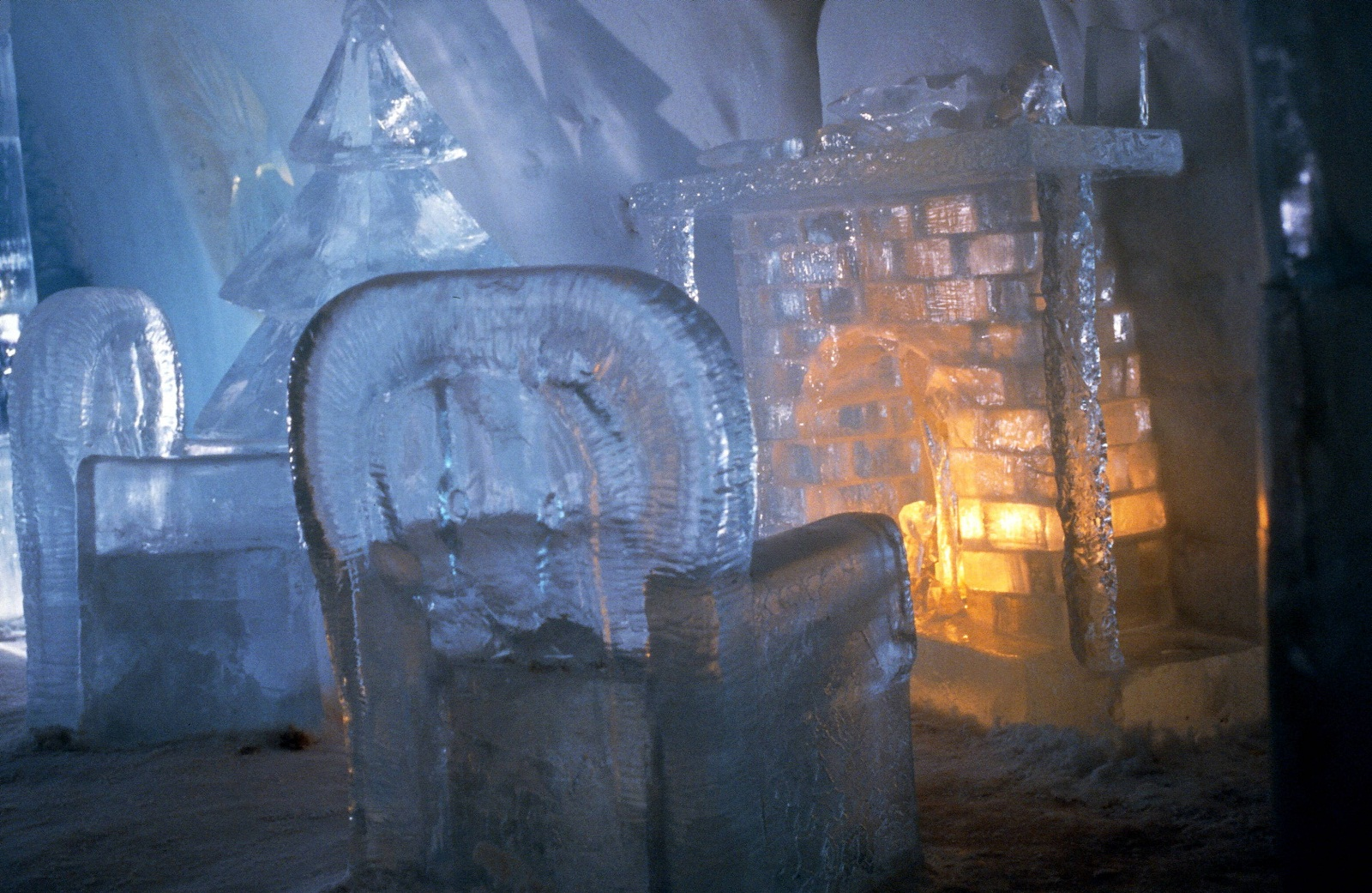 Ice Hotel Room Images