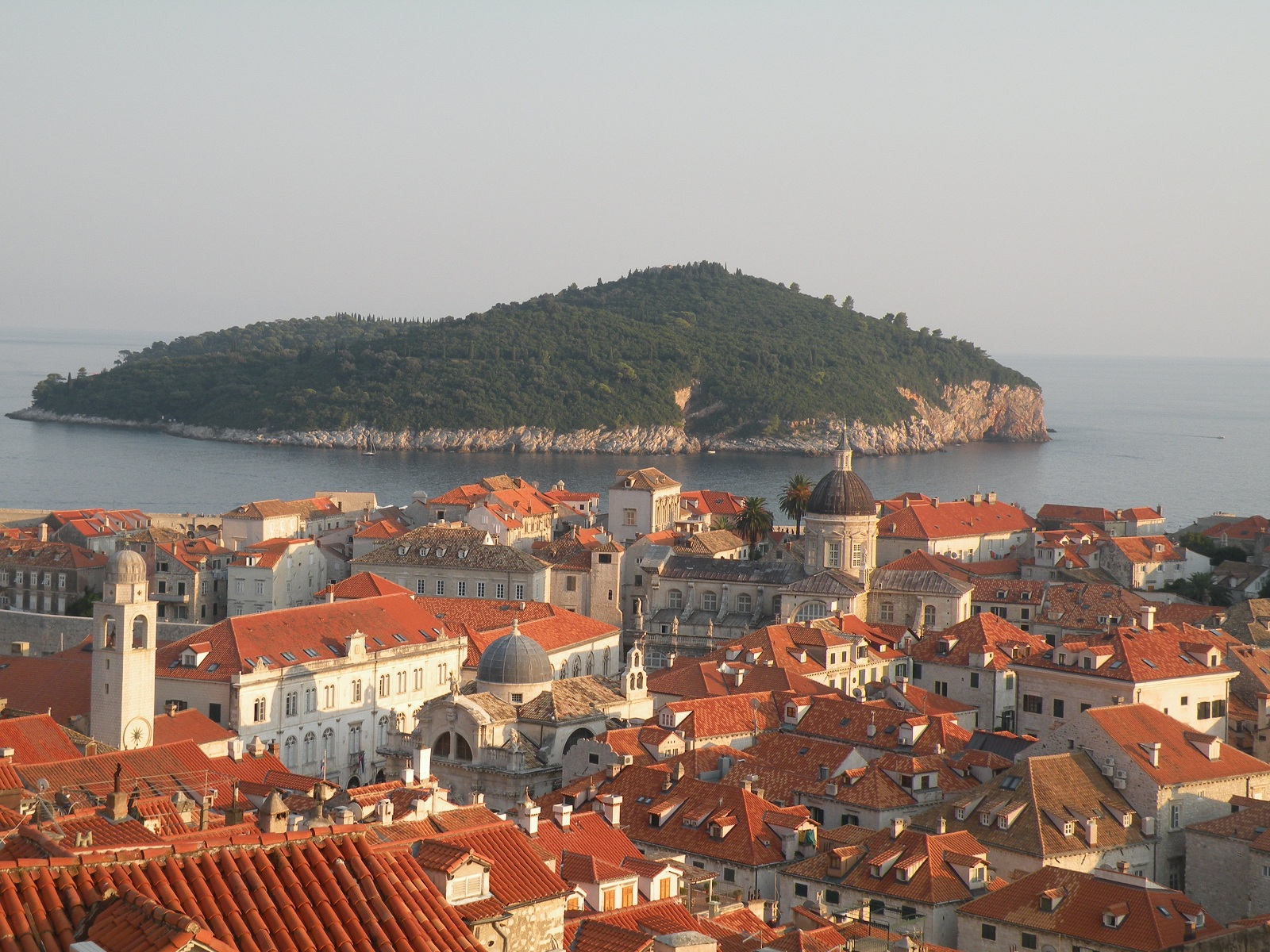 Valentines Day Holiday, Dubrovnik, Croatia, Panoramic view