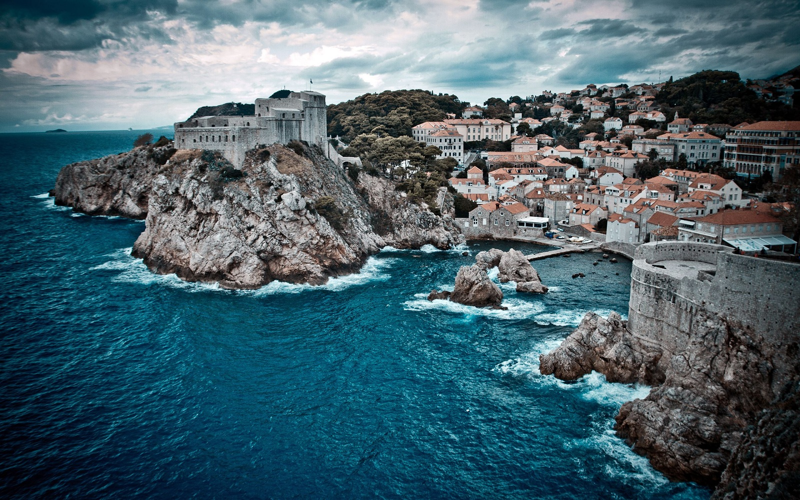 Valentines Day Holiday, Dubrovnik, Croatia, City overview