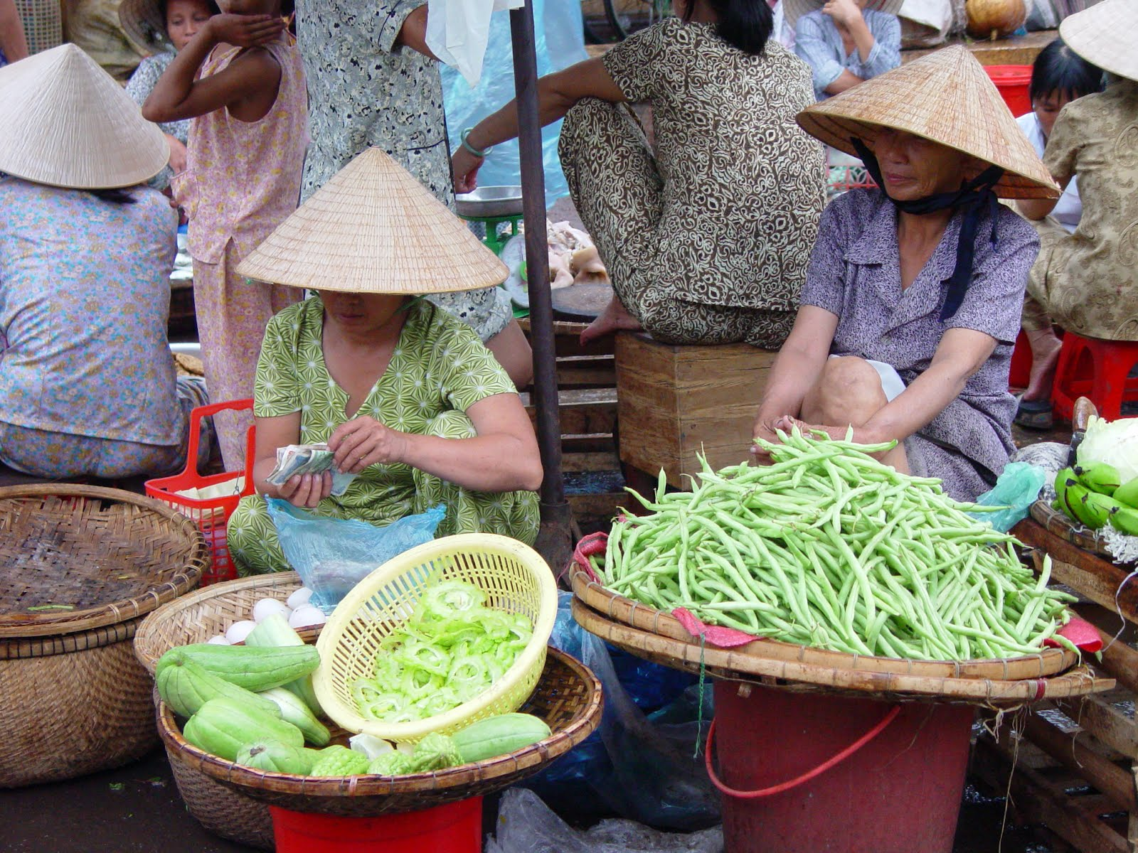 Asian Vacation, Vietnam, Food sellers