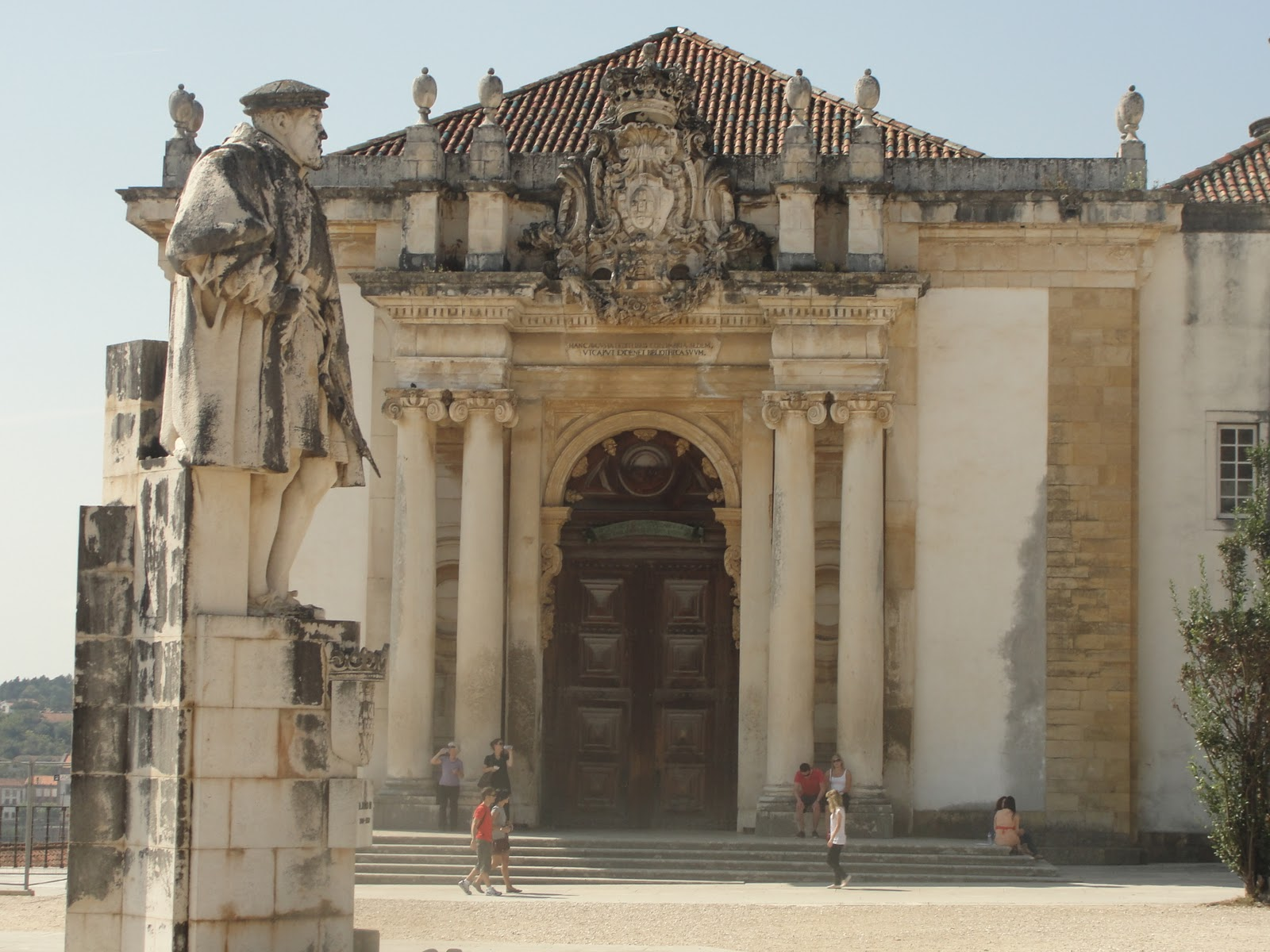 Most Beautiful Universities, Coimbra, Portugal, The Biblioteca of Coimbra University
