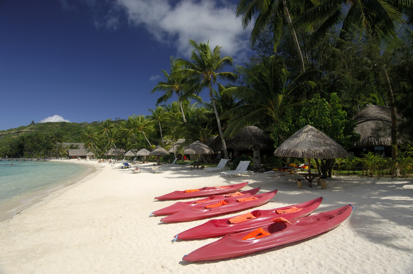 World Best Hotels, Hawaii, Sofitel Bora Bora Marara Beach private island beach