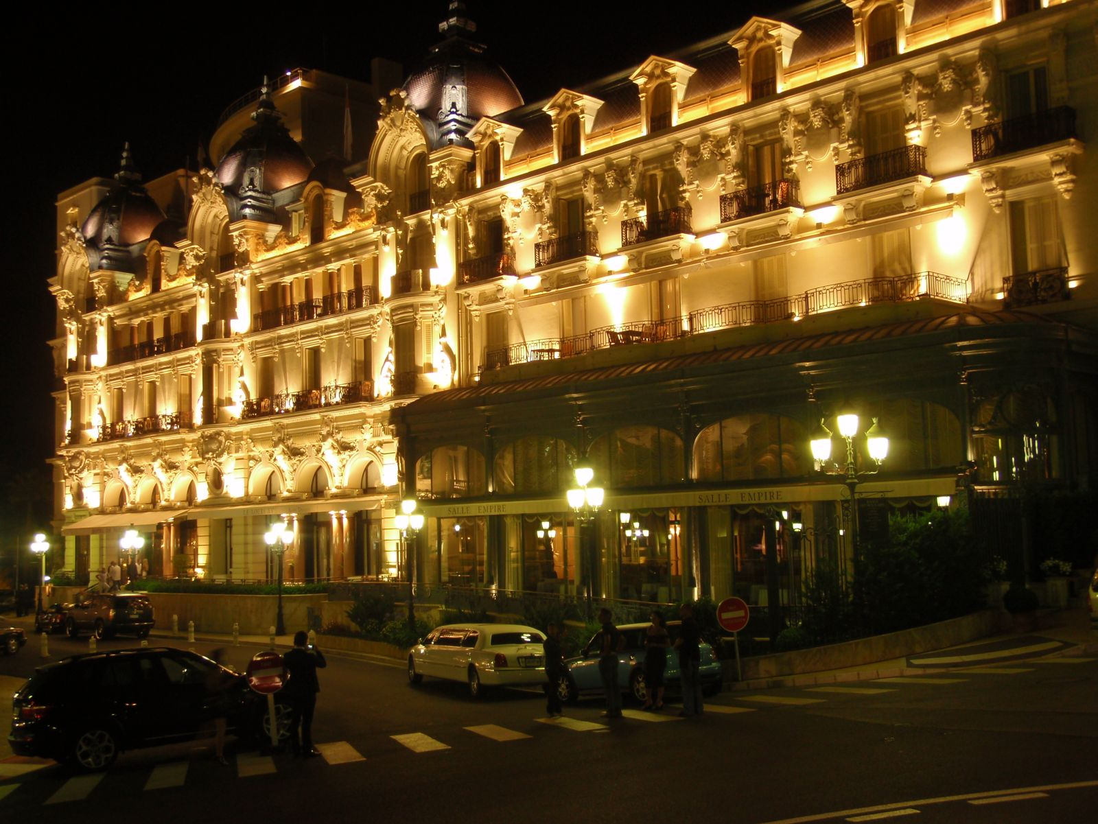 World Best Hotels Monte Carlo Monaco Hotel De Paris By Night