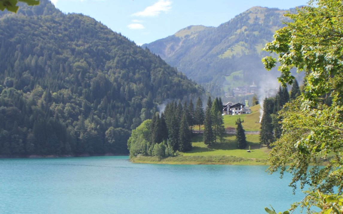 World Holiday, Friuli, Italy, Lake Sauris overview