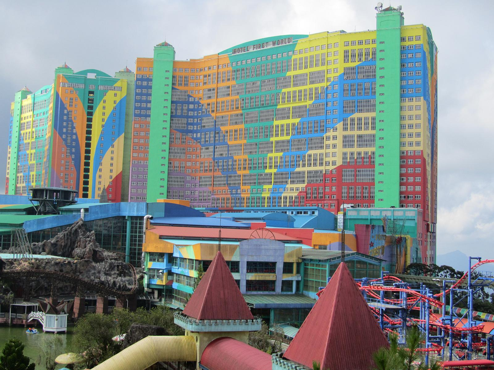 World Largest Hotels, First World Hotel, Malaysia, Asia, Outside view