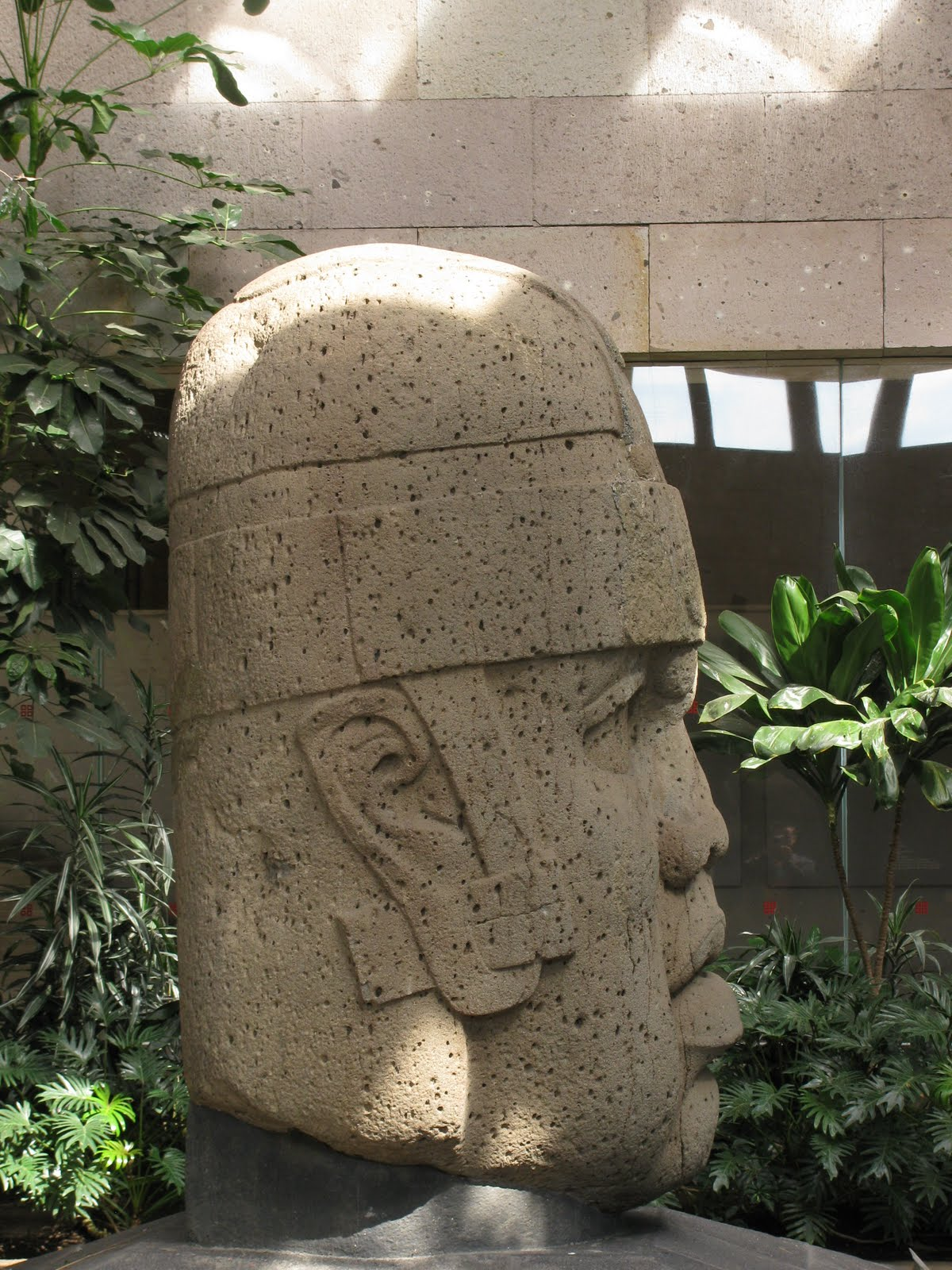 National Museum of Anthropology, Mexico City, Olmec head