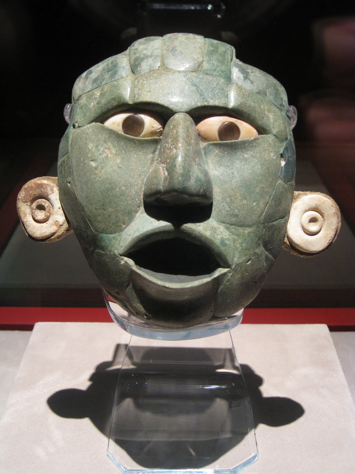 National Museum of Anthropology, Mexico City, Statue head 3