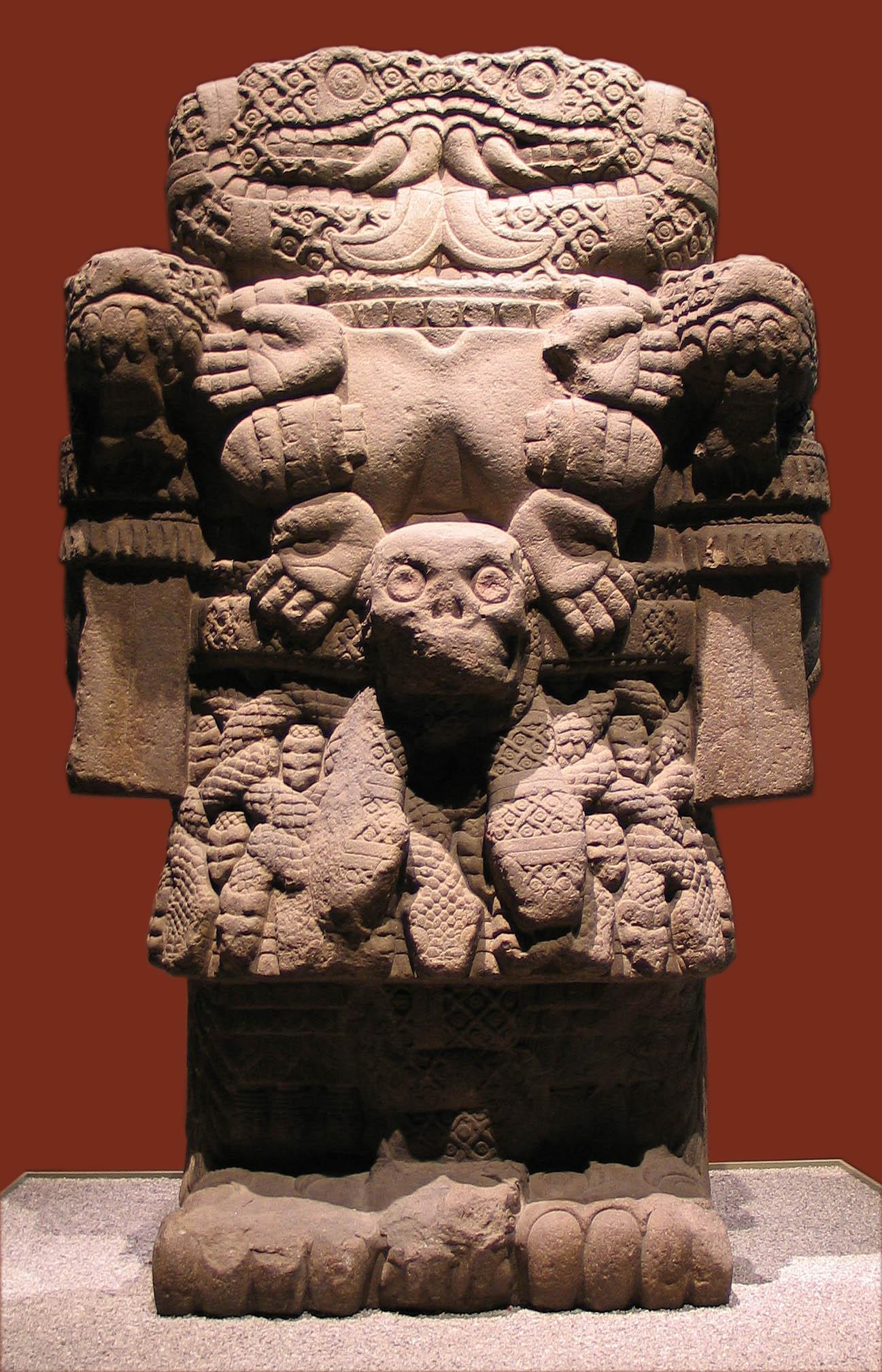 National Museum of Anthropology, Mexico City, Statue exhibit