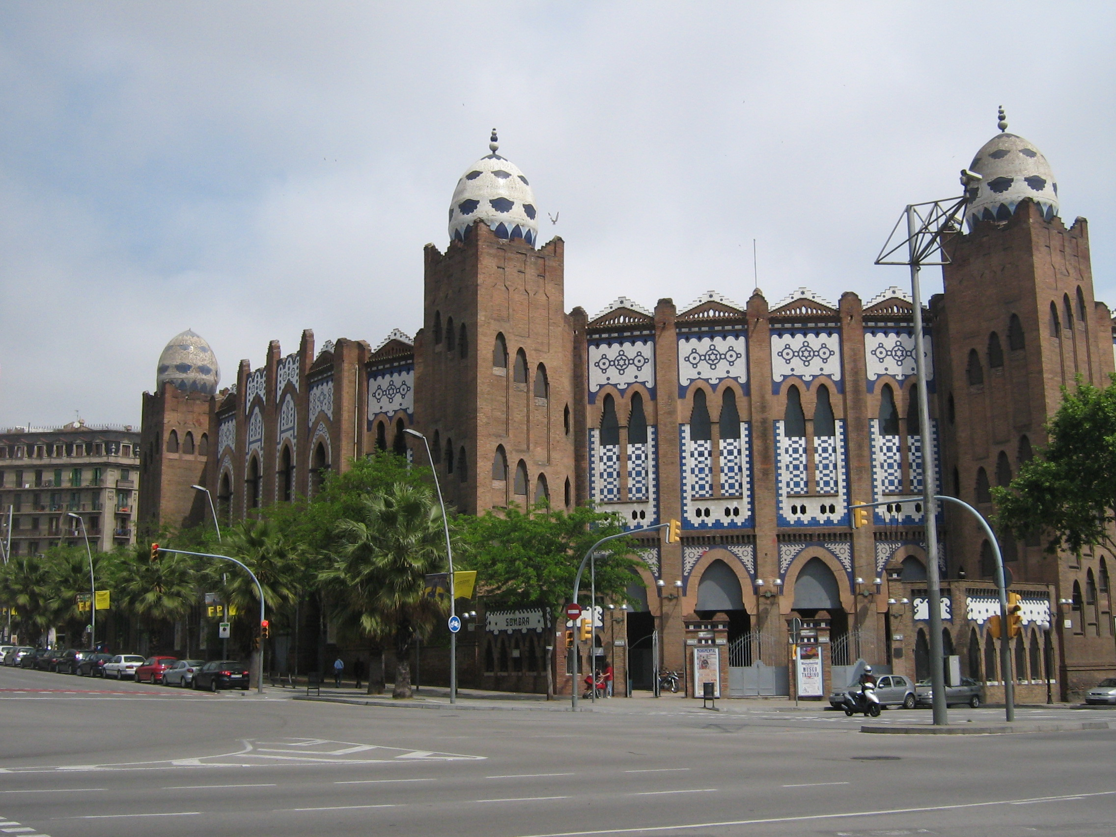 Barcelona Architecture, Spain, Plaza de Toros
