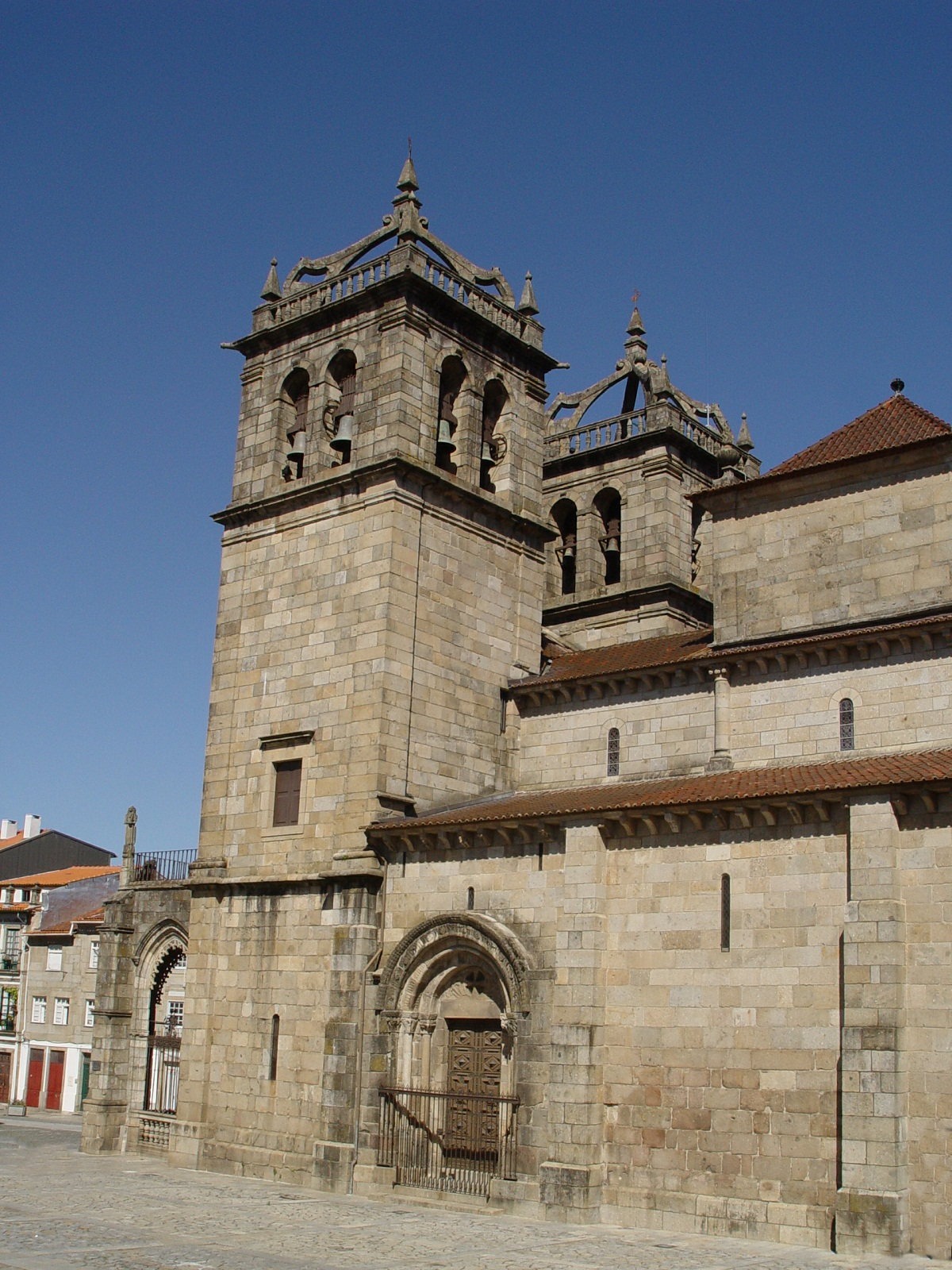 Braga Cathedral, Portugal, Side view