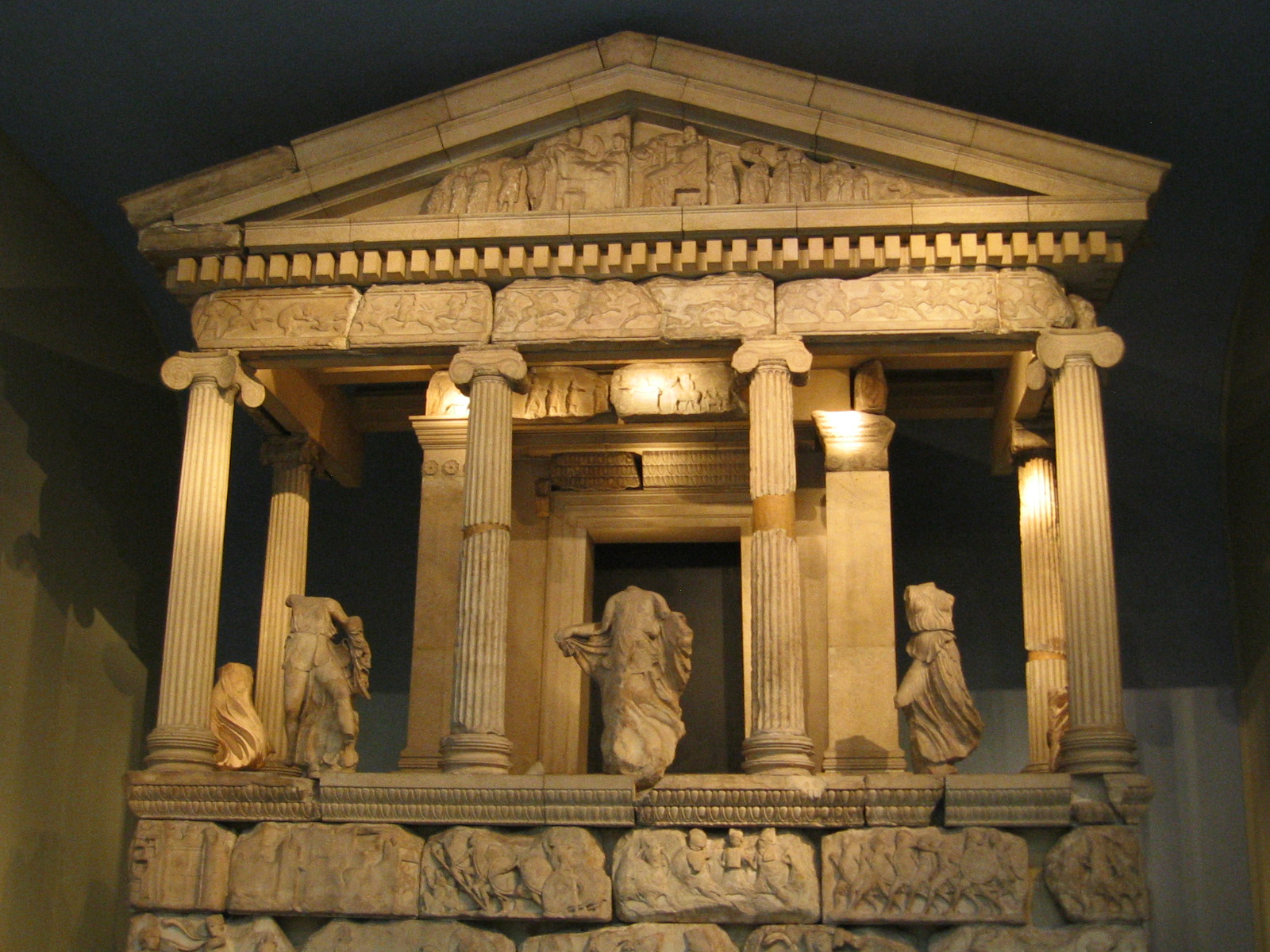 British Museum, London, England, Greek Temple