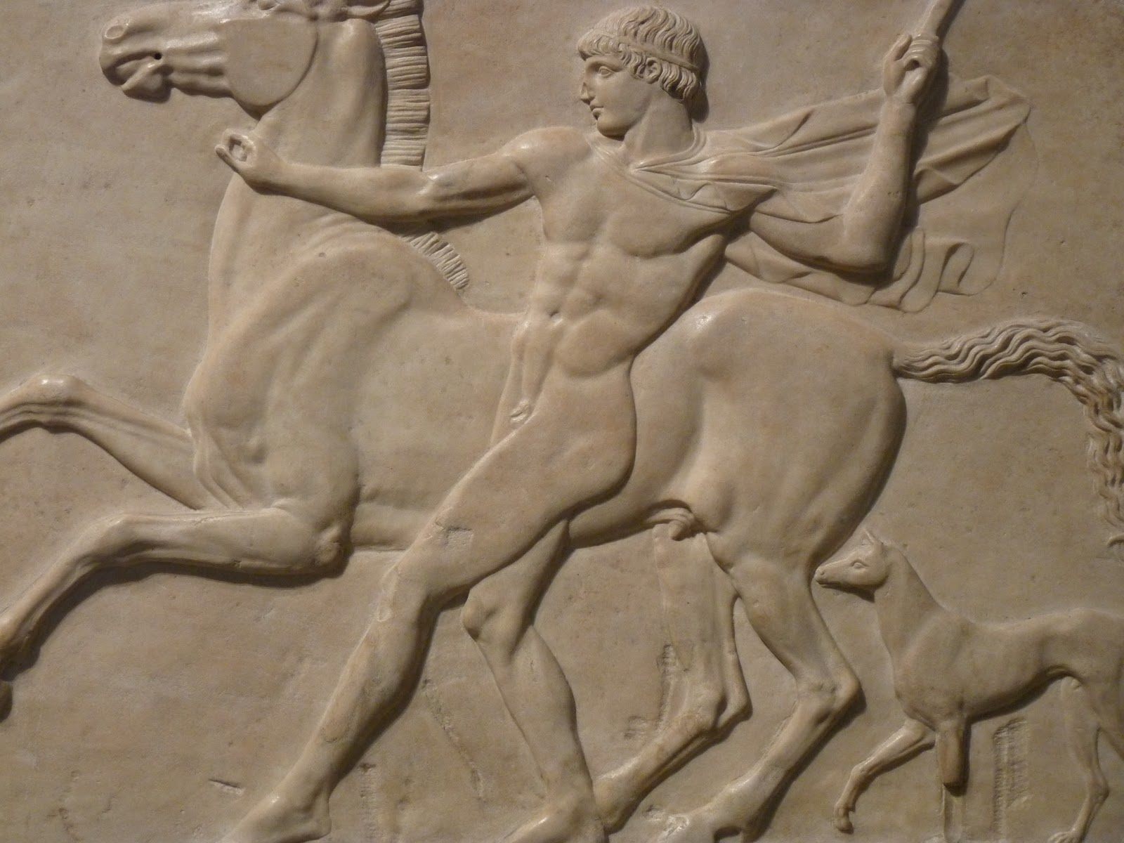 British Museum, London, England, Bas-relief 01