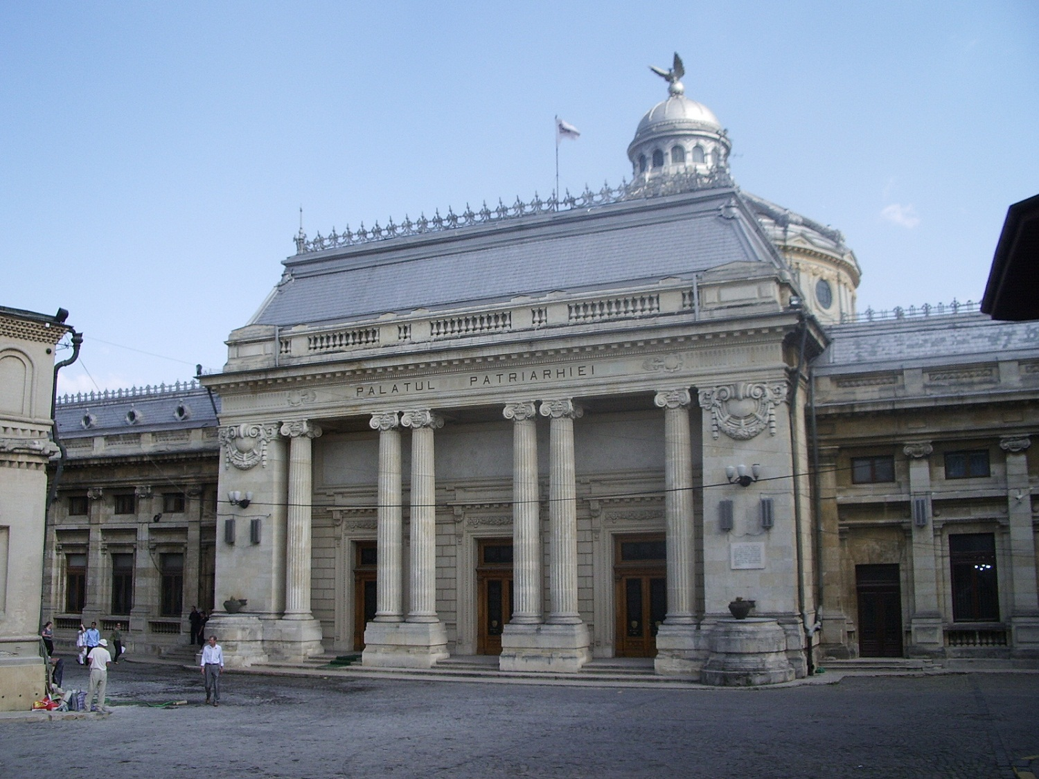 Bucharest Architecture, Romania, Patriarchal Palace