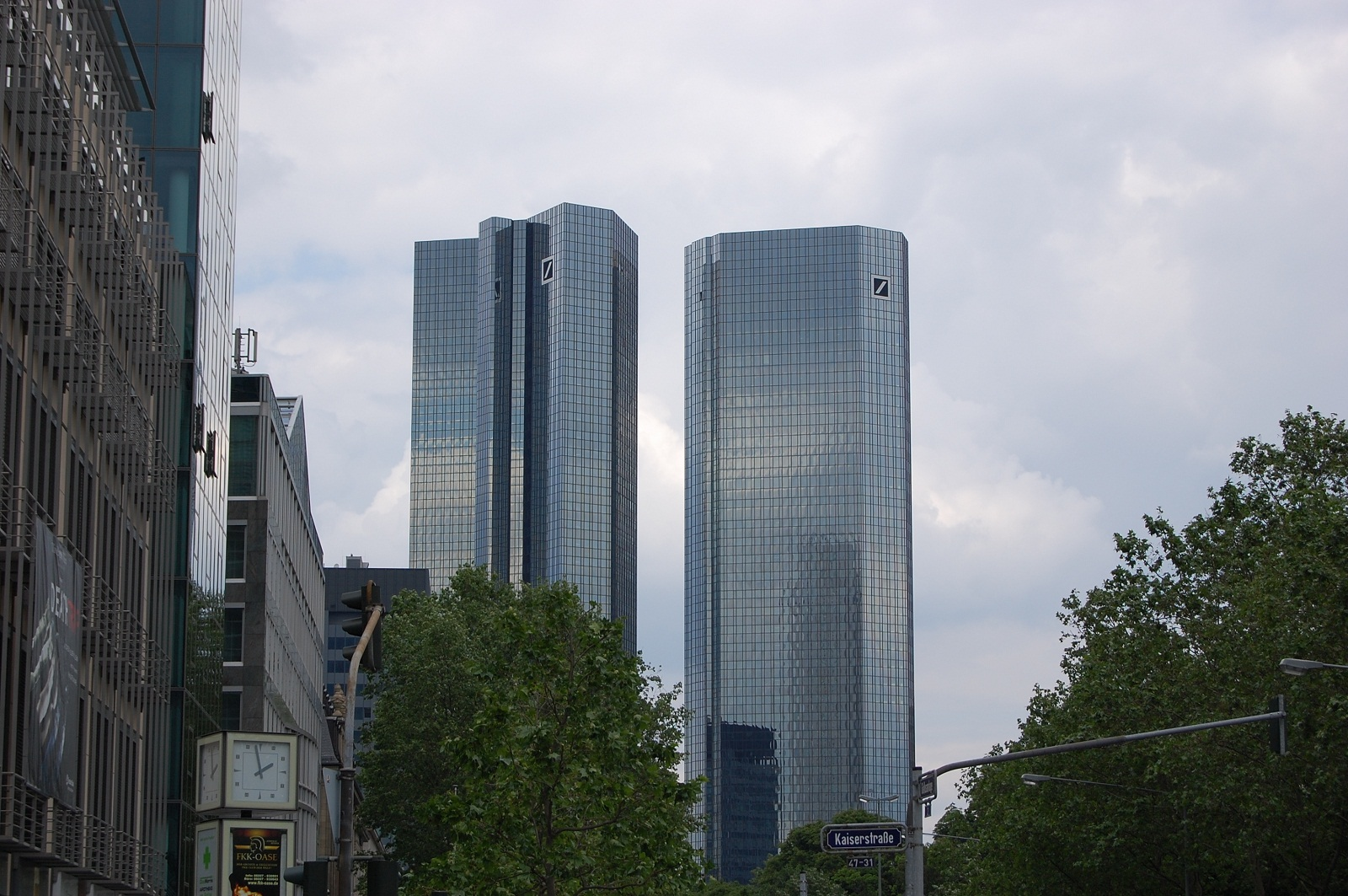 Frankfurt Architecture, Germany, Skyscrapers (3)