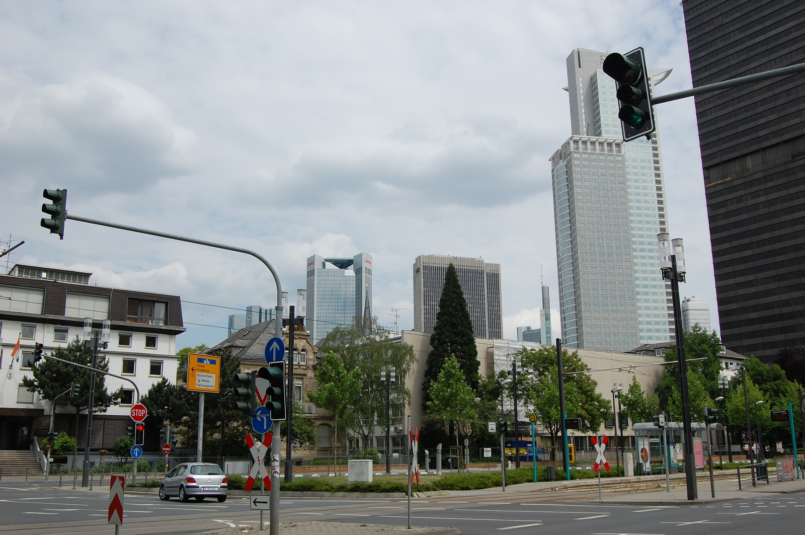 Frankfurt Architecture, Germany, Skyscrapers (2)