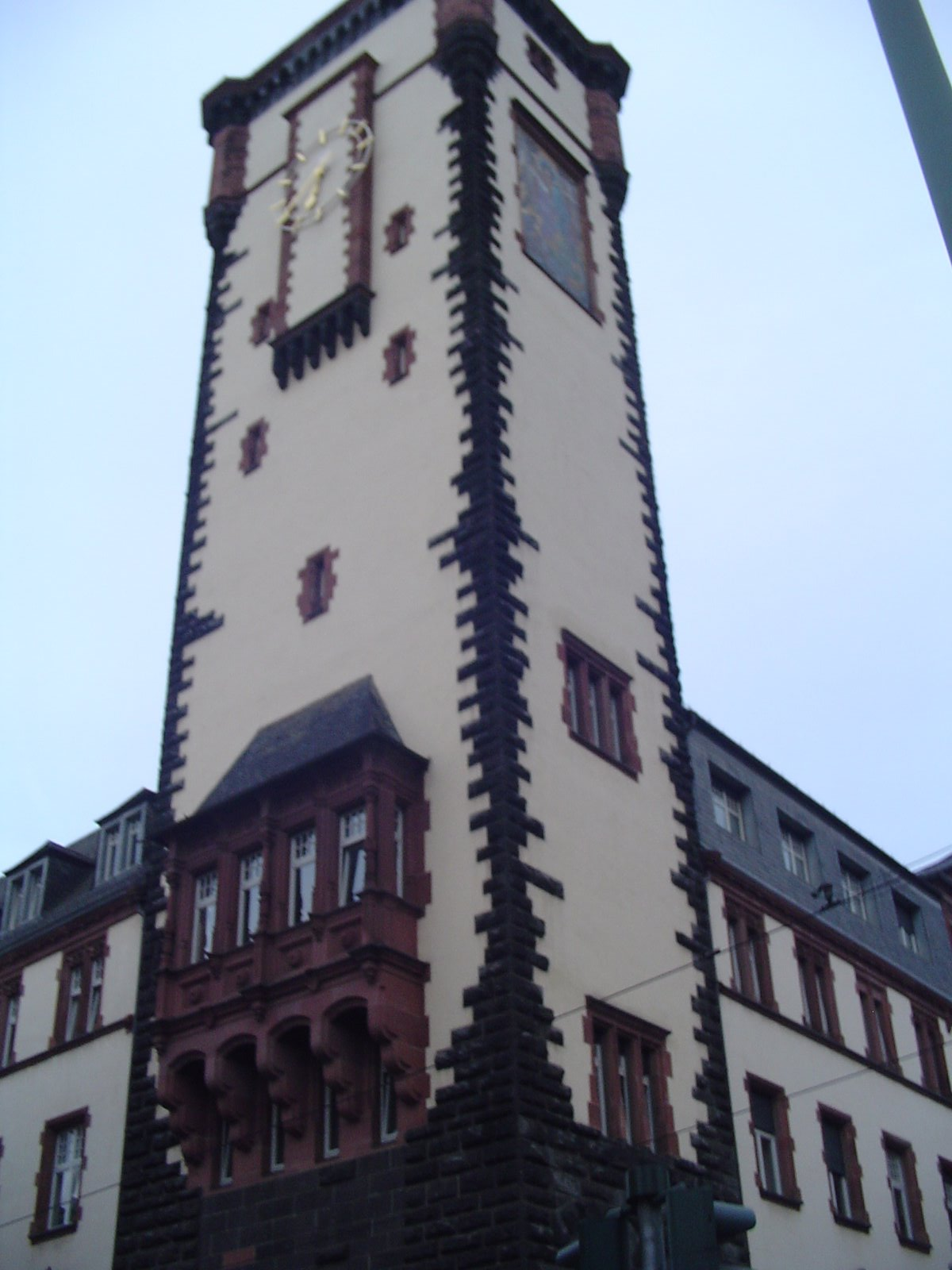 Frankfurt Architecture, Germany, Clock Tower