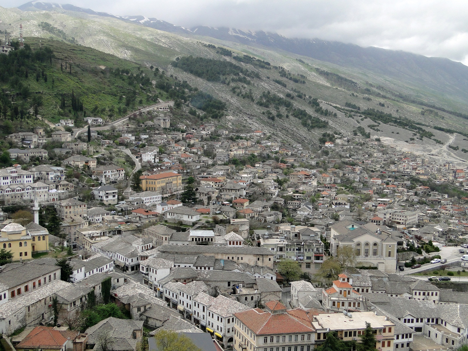 Gjirokaster, Albany, Europe, City Architecture 9