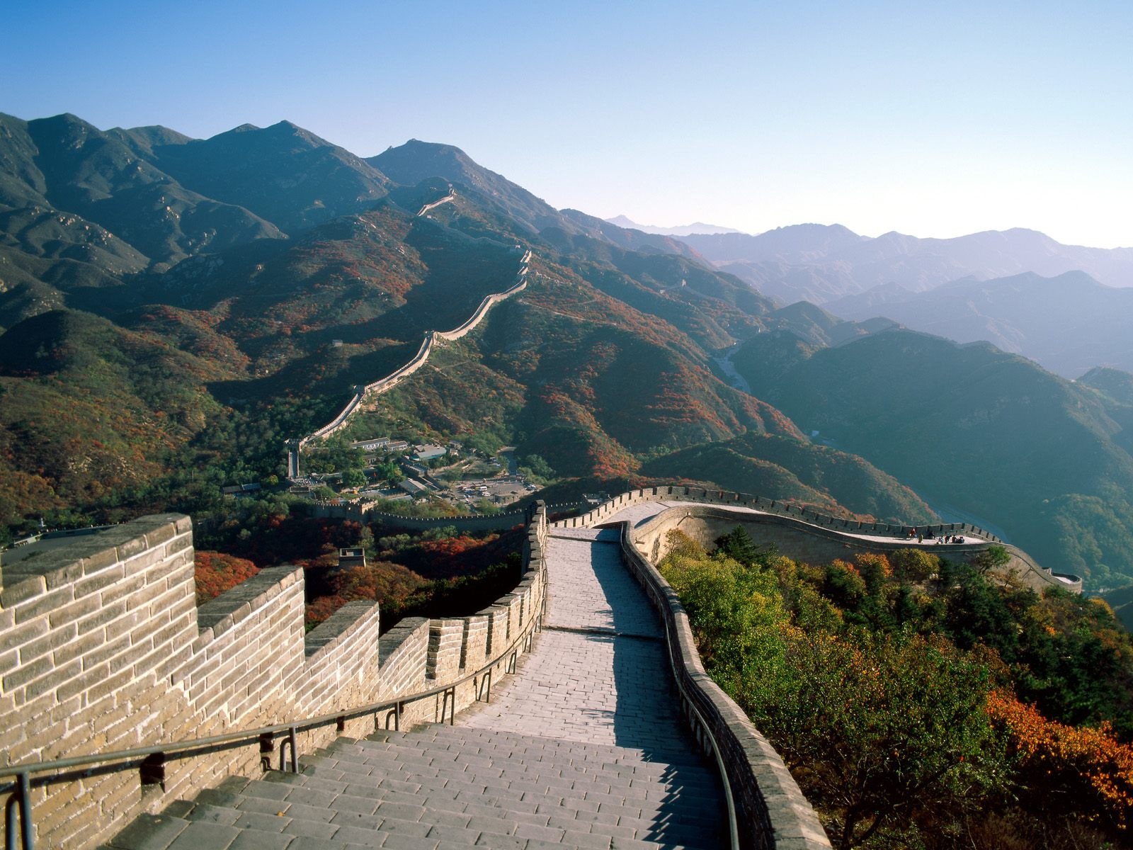Great Wall of China, China, Panorama (2)