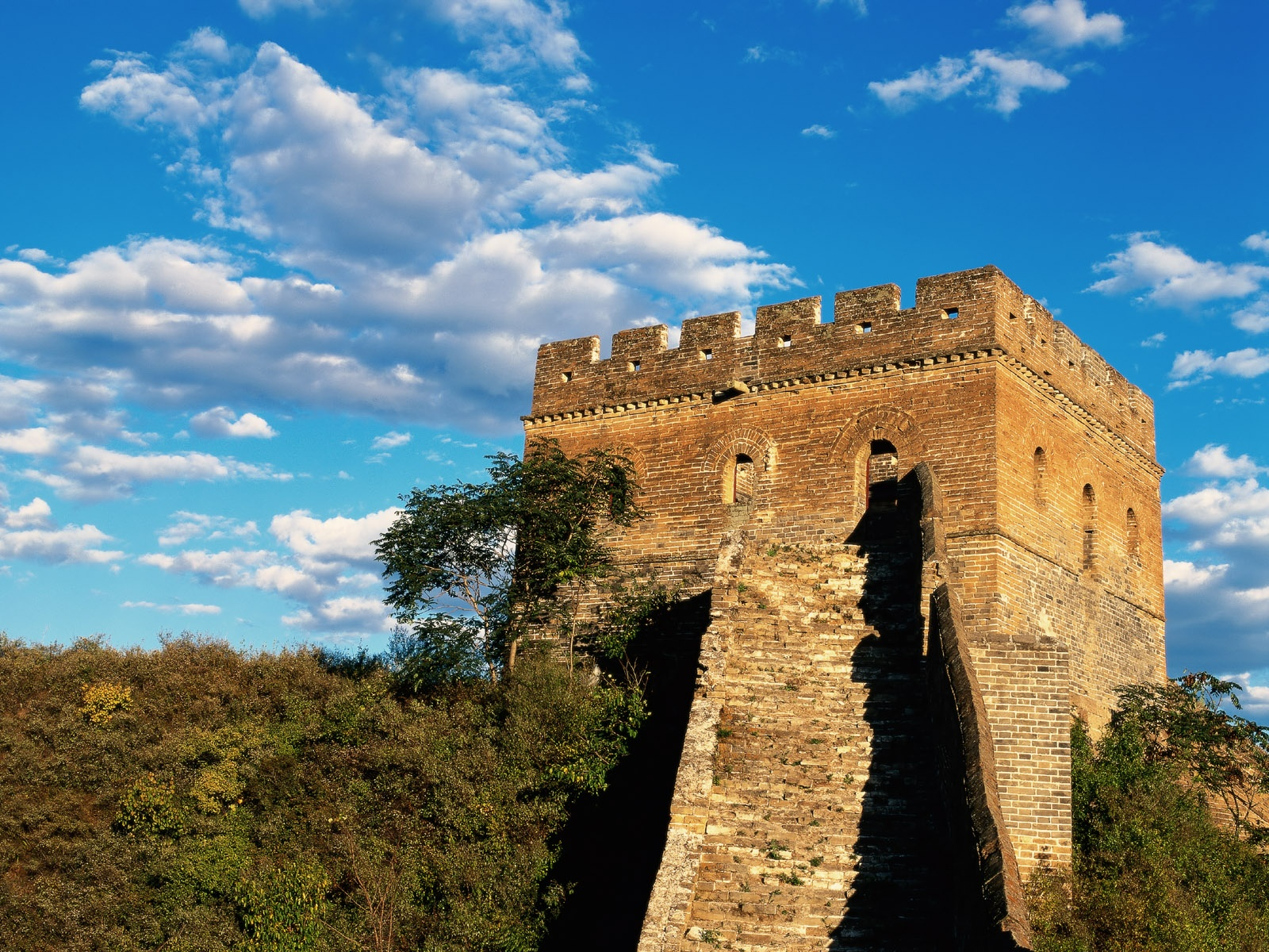 Great Wall of China, China, Tower view