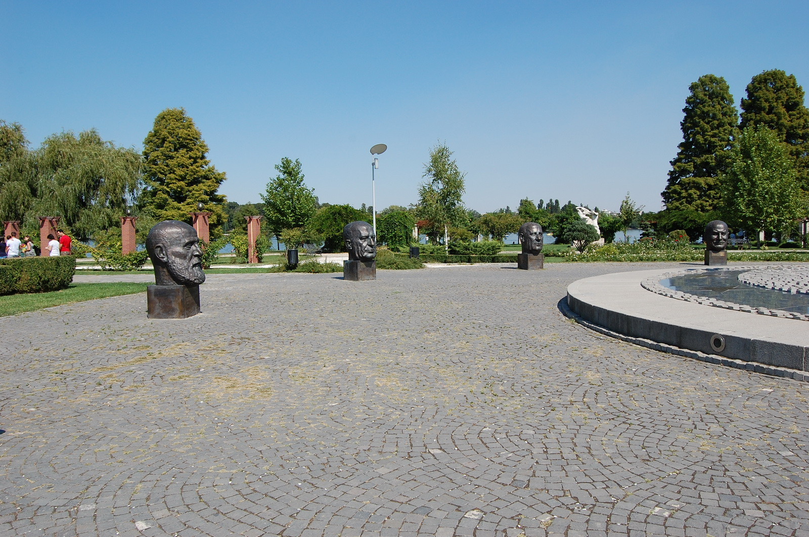 Herastrau Park, Bucharest, Romania, UE Square
