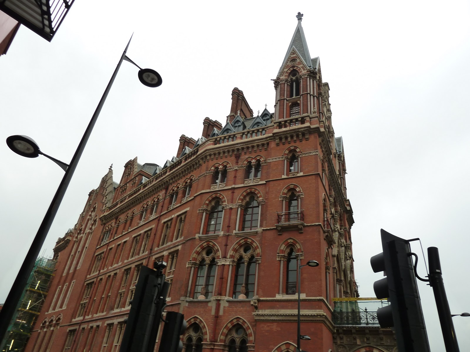 London Architecture, United Kingdom, St Pancras facade