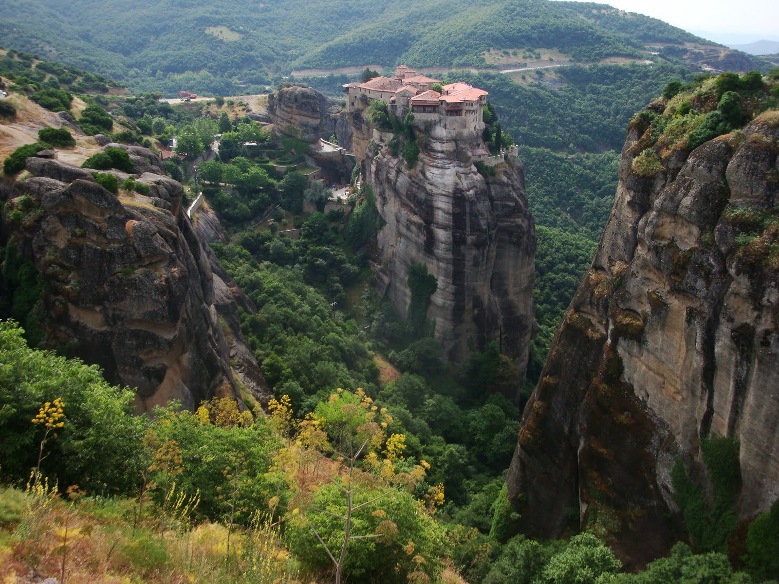 Meteora Greece Varlaam Monastery 005 - 578 :: World All ...