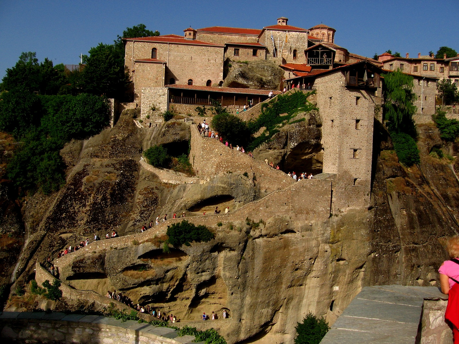 Meteora, Greece, The Great Meteoron 003