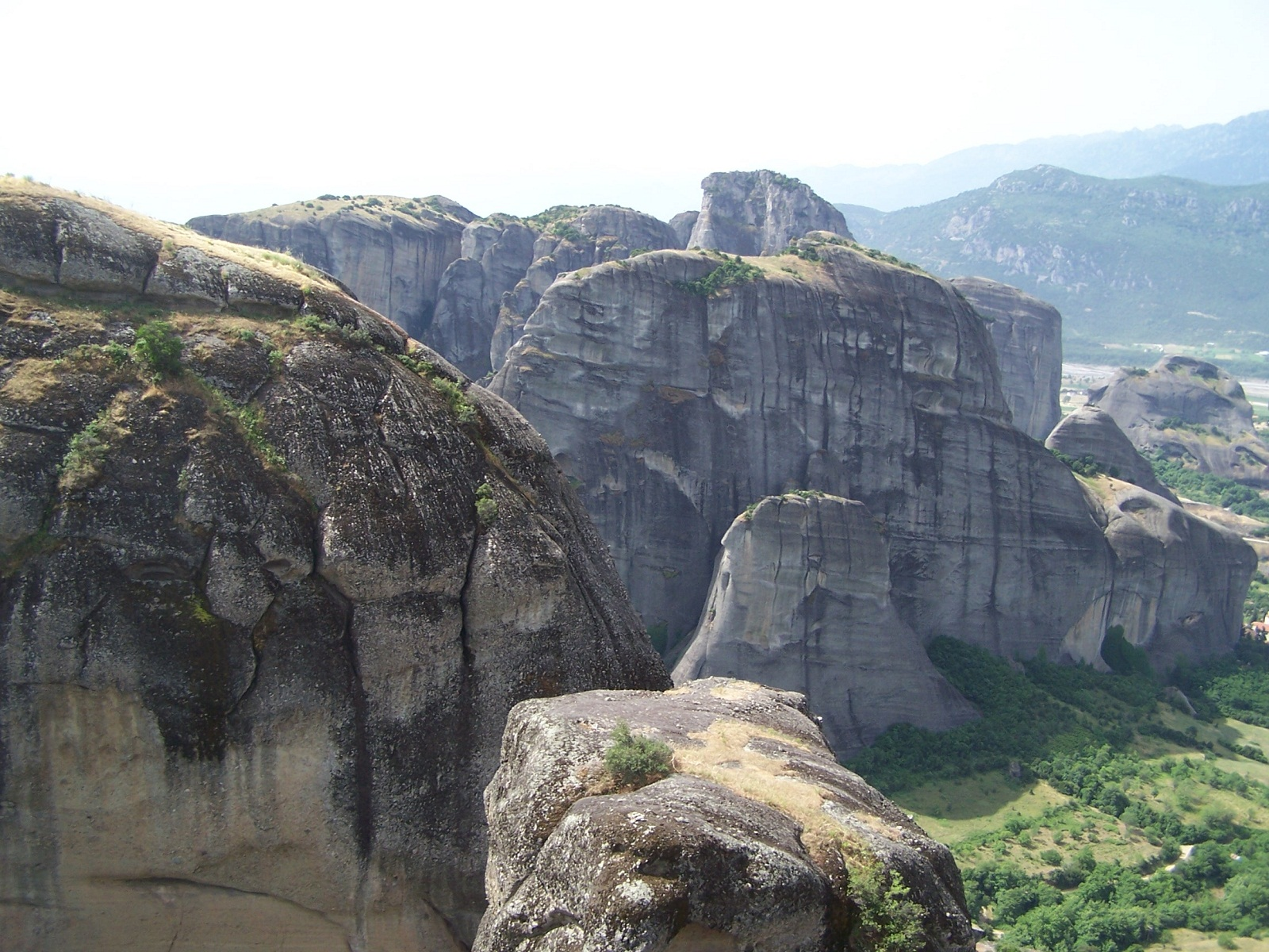 Meteora, Greece, Rocks 019