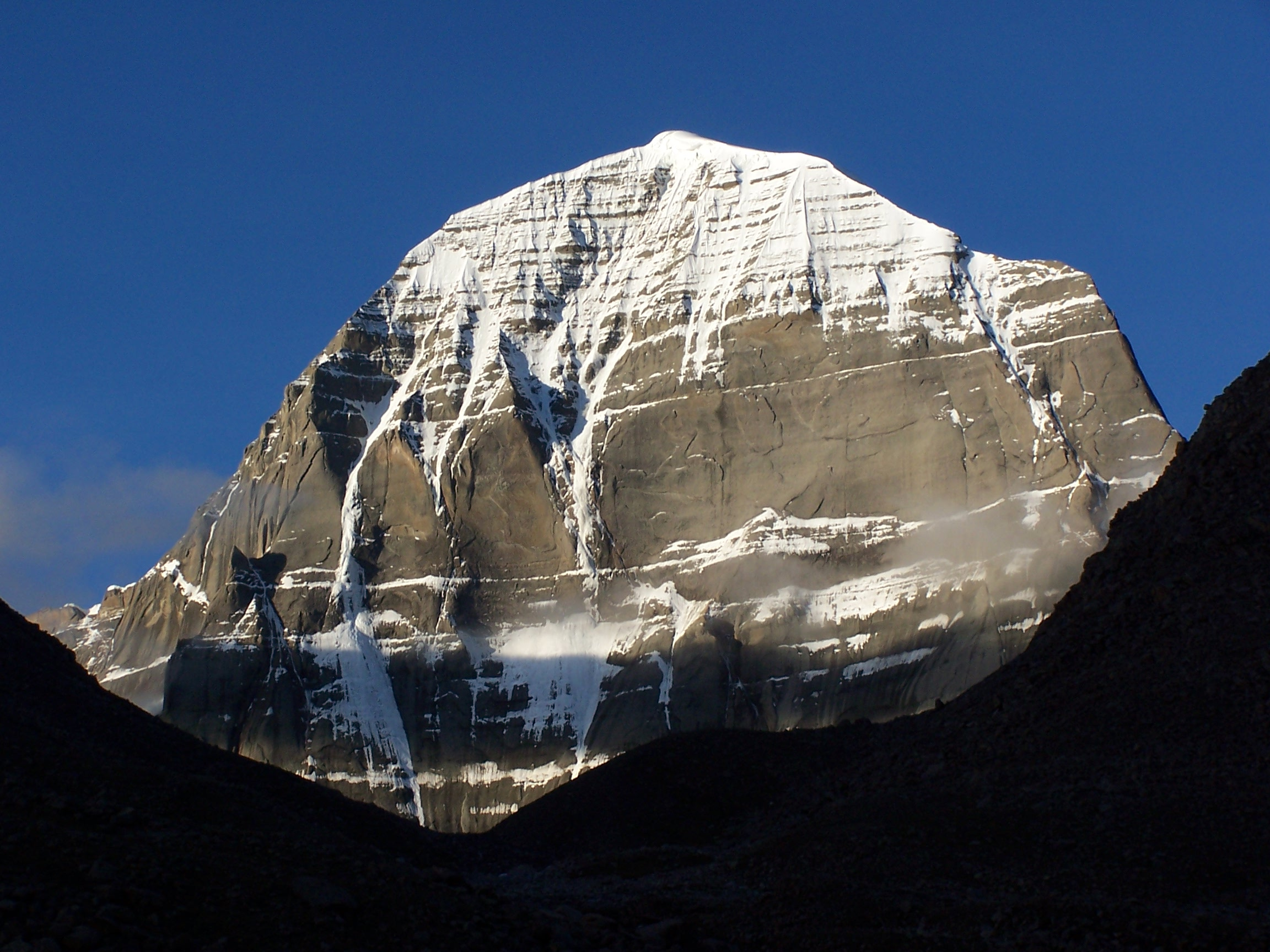 Mount Kailash, Tibet, North face of the mountain
