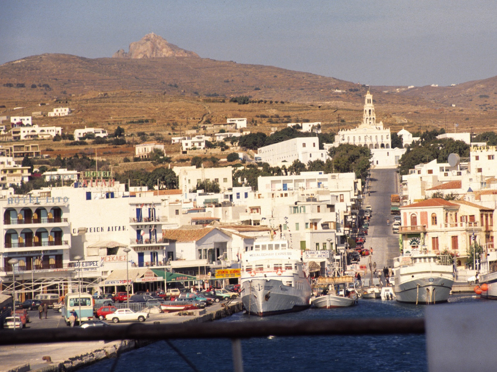 Mykonos, Greece, Houses skyline (2)