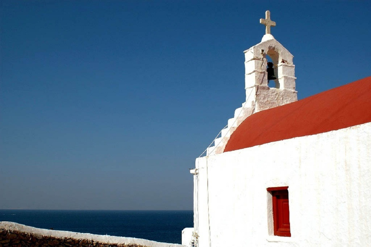 Mykonos, Greece, Church overview