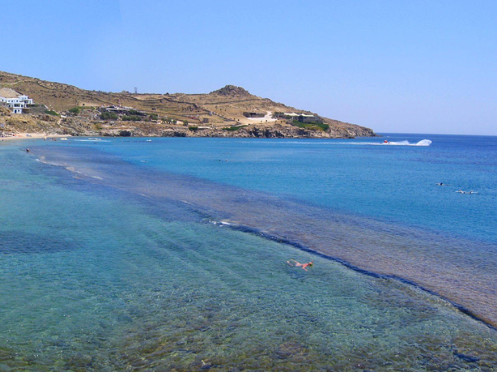 Mykonos, Greece, Paradise Beach 03