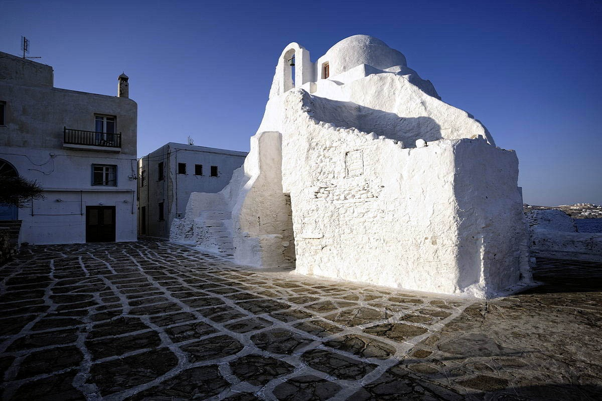Mykonos, Greece, Architecture